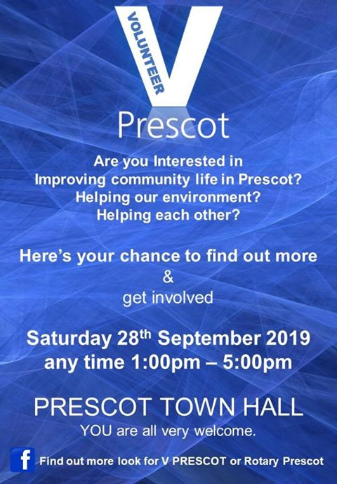 Volunteer Prescot - Rotary Club Event