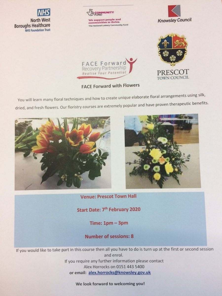 Face Forward with Flowers - 8 week course